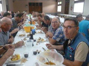 Les tripous ont été très appréciéslors du déjeuner du dimanche matin.