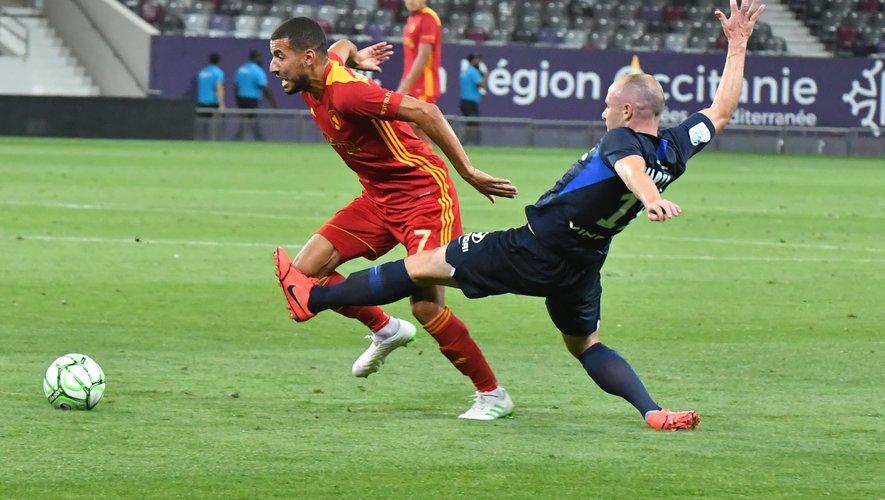 Laurent Peyrelade a procédé à de nombreux changements, dont bénéficie Nassim Ouammou, titulaire pour la première fois cette saison.