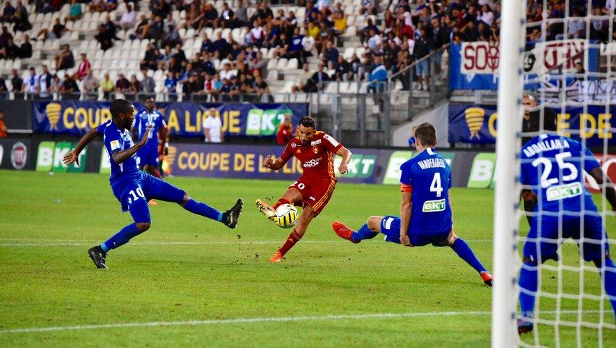 L'aventure est déjà terminée en coupe de la Ligue pour Matthieu Guerbert et ses partenaires.