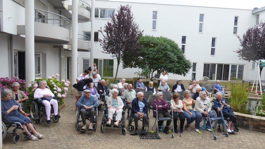 Talents de résidants à la maison de retraite Sainte-Anne