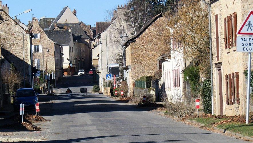 Les travaux sur l'avenue de Rodez seront bientôt achevés.