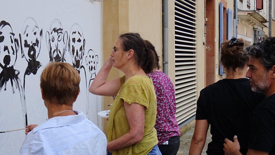 Atelier d' initiation avec l'artiste