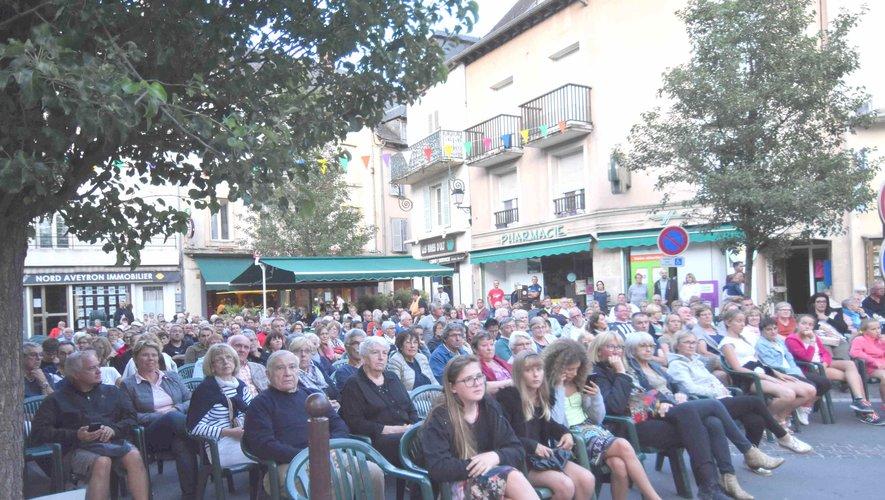 Il y avait foule au concert de Nelle Bé
