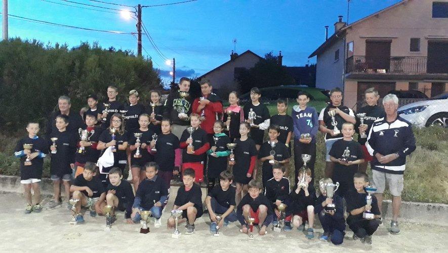 Quarante enfants du canton de Sévérac ont disputé huit concours.