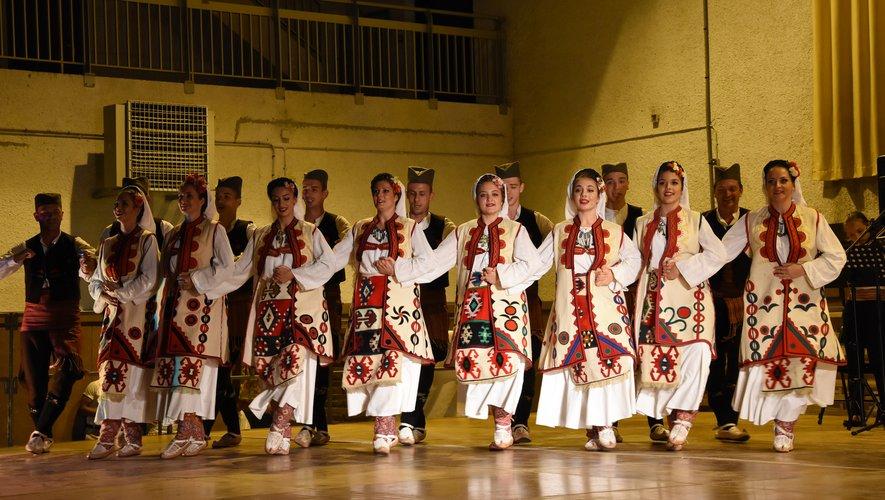 Les Serbes du groupe « Abraševi » ont confirmé leur grand talent.