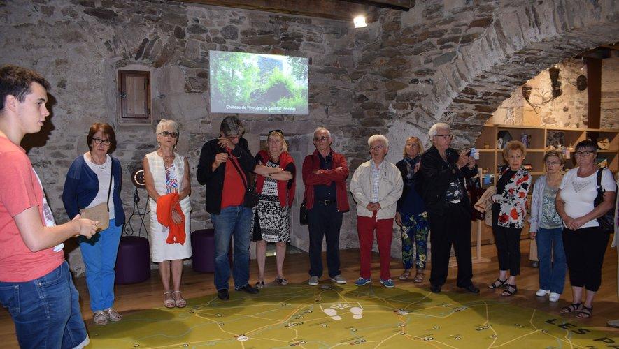 Les Villlefranchois de Parisont visité la Maisondu Gouverneur à Najac.