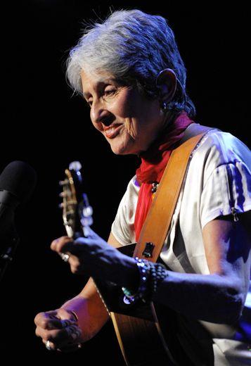 """Joan Baez se rappelle de Woodstock comme d'une """"fête de joie""""."""