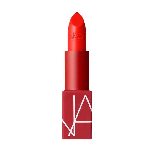 """Le rouge à lèvres """"Heat Wave"""" issu de la gamme des douze teintes originales de NARS Cosmetics."""