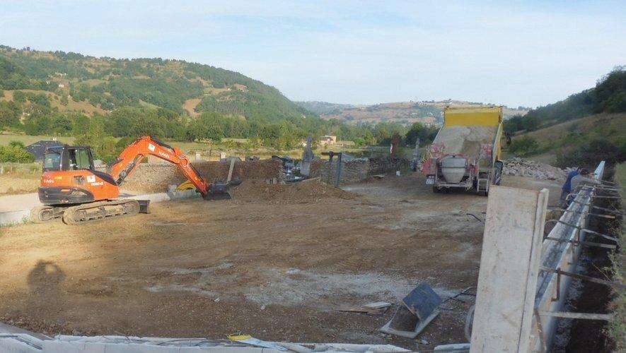 De gros travaux ont été entreprisau cimetière de Nadaillac.