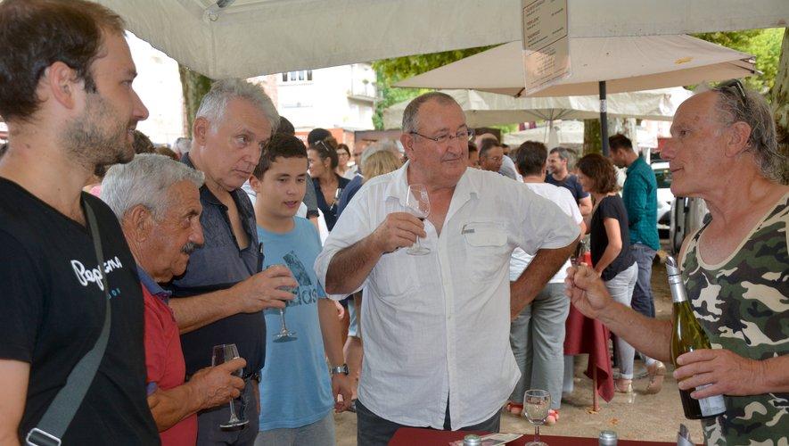 Une 11e foire aux vins… bien arrosée.