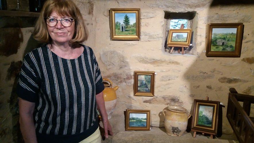 L'artiste sera l'invitée d'honneur à la salle des fêtes de Cassagnes-Bégonhès,  les 23,24 et 25 août.