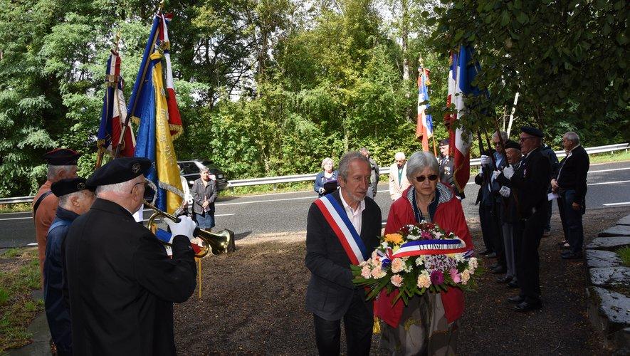 La mémoire de Maurice Grégoire  et de Jean Galan honorée