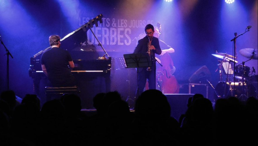 Le quartet d'Émile Parisien Quartet a clos le festival en beauté dimanche.