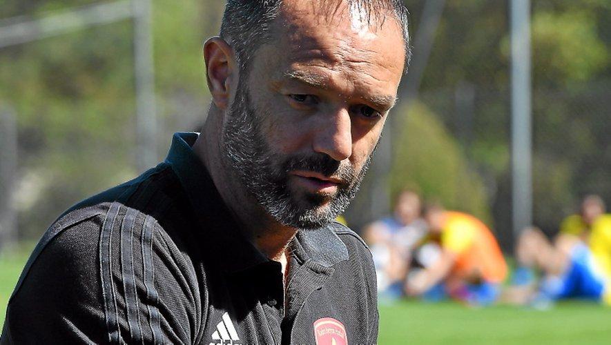 Florent Rech, l'entraîneur de l'équipe réserve du Raf.