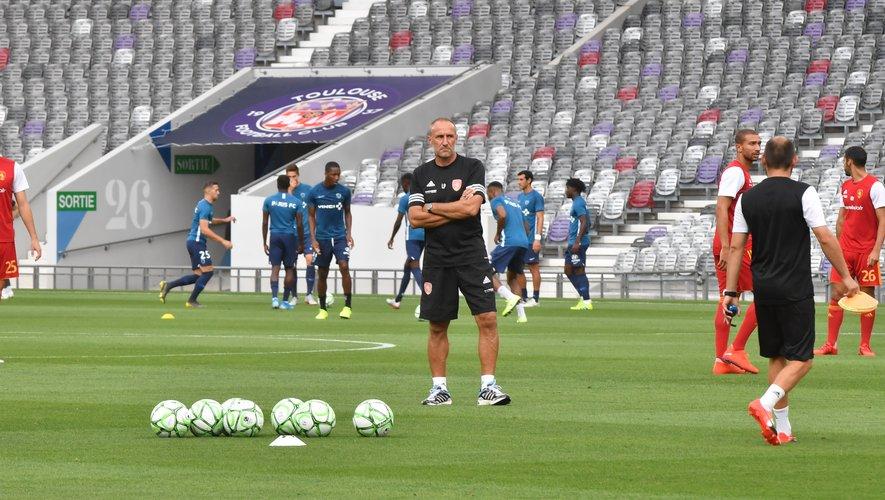Laurent Peyrelade sait que la saison de Ligue 2 sera très longue.