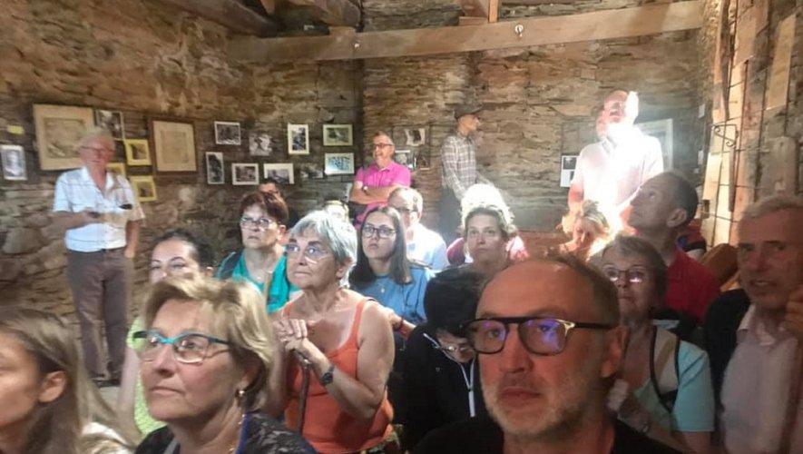 La visite du musée des ardoisières a passionné les participants, avant de se retrouver tous autour d'une bonne table.