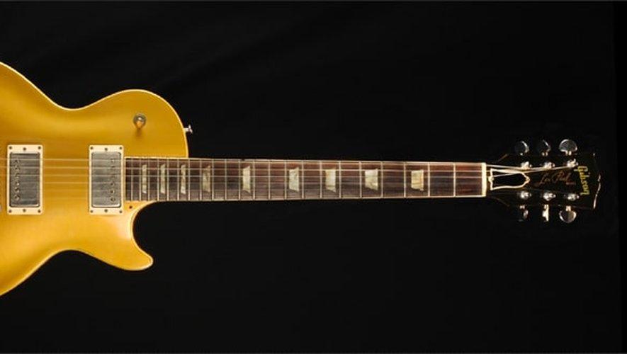 Duane Allman a enregistré les deux premiers albums des Allman Brothers avec cette guitare dorée.