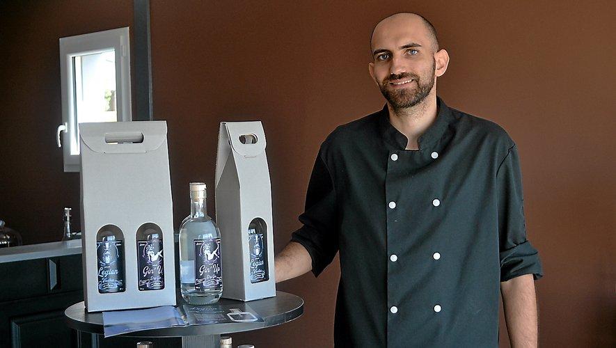 Les premières boissons de Mathieu Recoules ont déjà  du succès.