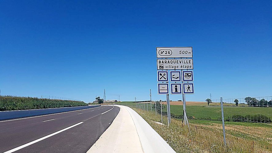 La première partie de la déviation de Baraqueville sera ouverte à la circulation d'ici quelques semaines.