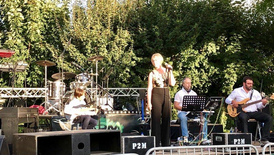 L'orchestre PM2 a assuré l'animation en plein air.