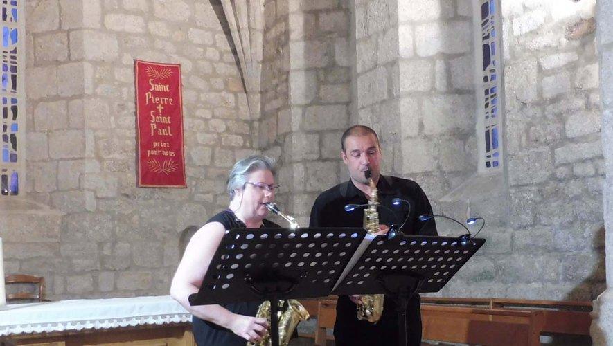 Florence Charron et Mickaël Douls en duo.