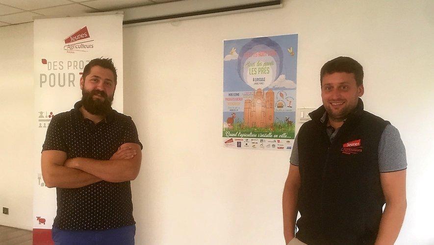 AnthonyQuintard et Romain Déléris, responsables des JA.