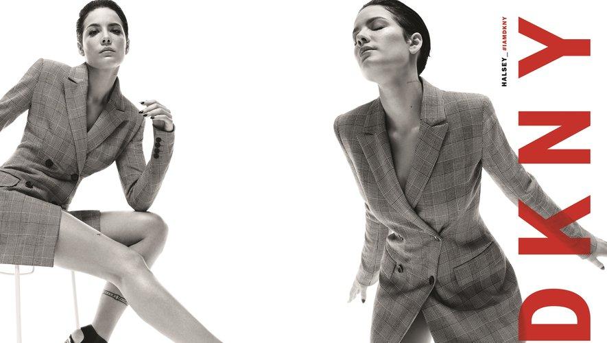 Halsey prête ses traits à la campagne automne 2019 de DKNY.
