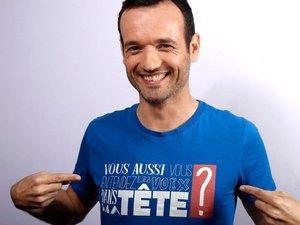 Mentaliste surdoué, Fabien Olicard sera à La Baleine, le 26 septembre.