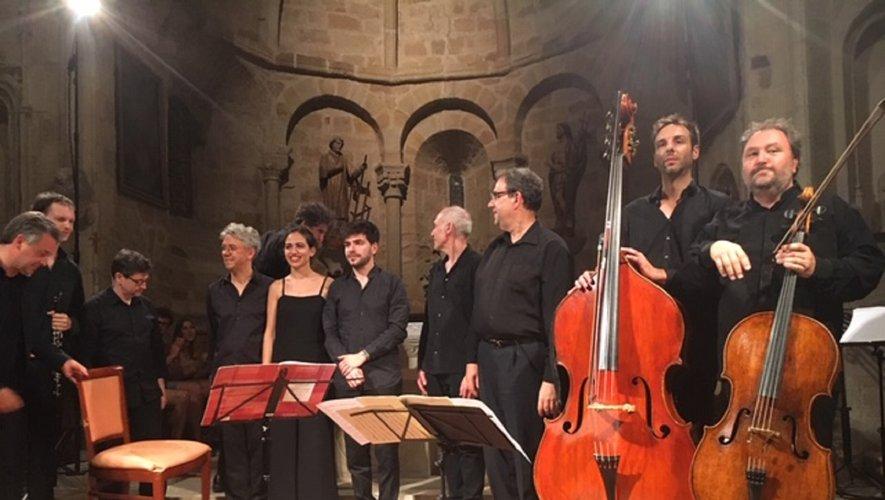 Les musiciens du Festival en Vallée d'Olt.