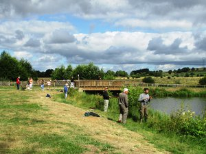 Le dernier concours de pêche de la saison aura lieu  dimanche 25 août,à la Mare aux Canards à Sainte-Geneviève-sur- Argence.