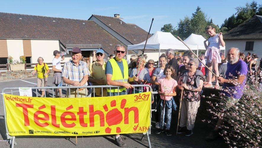 Chaque année le Téléthon de la Viadène a organisé une grande randonnée