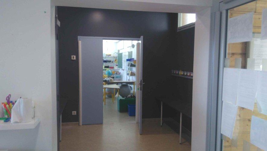 Des opérations de rénovation des locaux ont été menées durant l'été.
