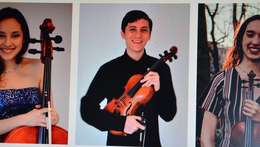 De jeunes musiciens, dimanche, à Saint-Martin de Bouillac