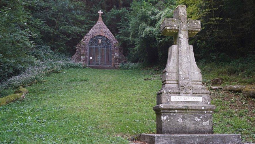 Site de Sainte Tarcisse dont l'entretien est assuré par des bénévoles