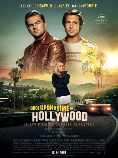 "AFFICHE: ""Once Upon a Time... in Hollywood""."
