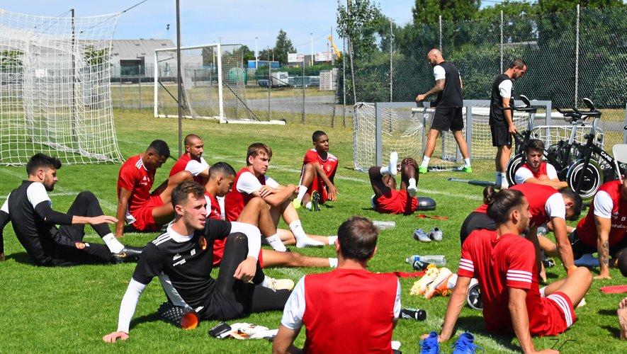 Les joueurs ruthénois se préparent à Toulouse comme s'ils jouaient à Rodez.