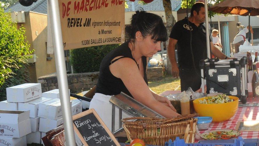 De bons produits à déguster pour ce marché gourmand de fin d'été  (photo d'archives)