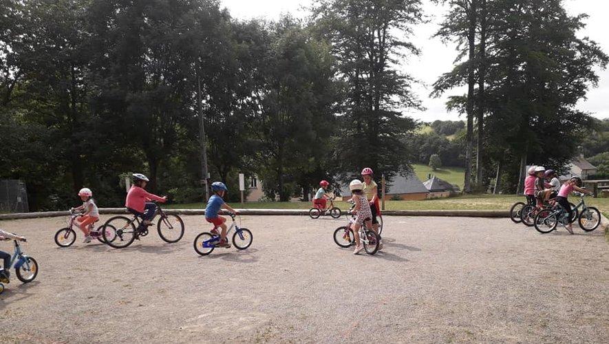 Les enfants ont vécu quatre  belles semaines d'intenses activités.