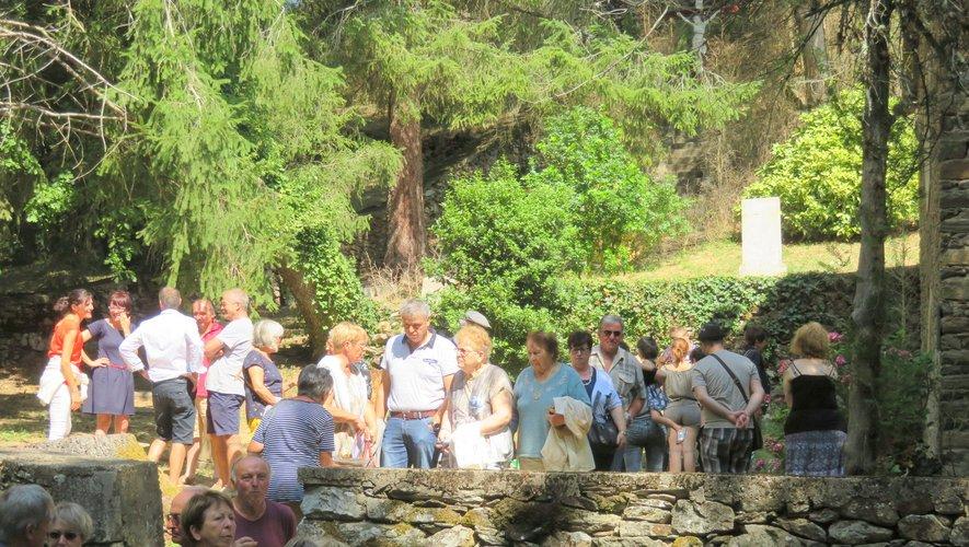Messe et travaux à Saint-Cyrice