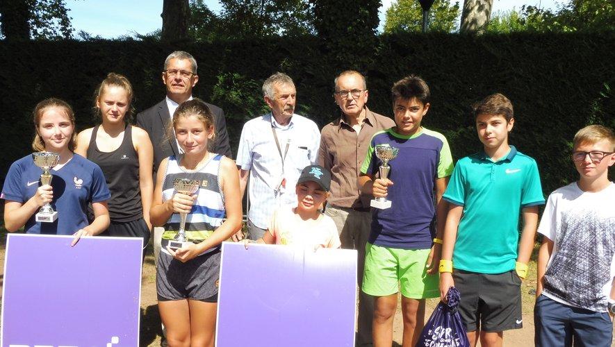 Les lauréats du tournoi.