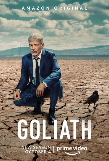 """""""Goliath"""" avec Billy Bob Thornton a été lancée en octobre 2016 sur Amazon Prime Video."""
