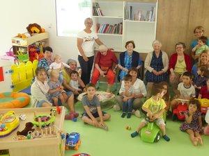 Les participants à cette rencontre dans les nouveaux locaux du Ram  à l'espace Antoine de Saint-Exupéry.