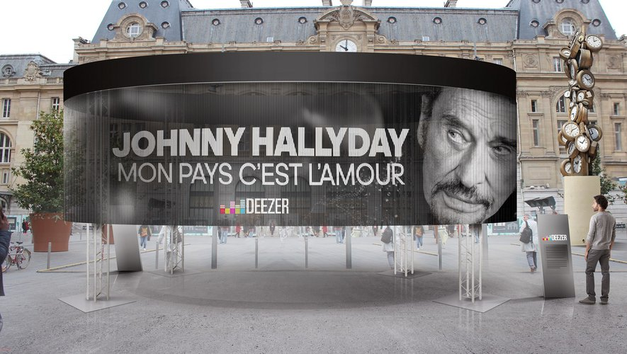 Une tribute a Johnny Hallyday.