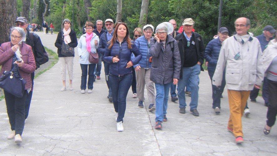 Rencontres citoyennes, c'est aussi pour ses adhérents des voyages à l'étranger, comme ici en Italie.