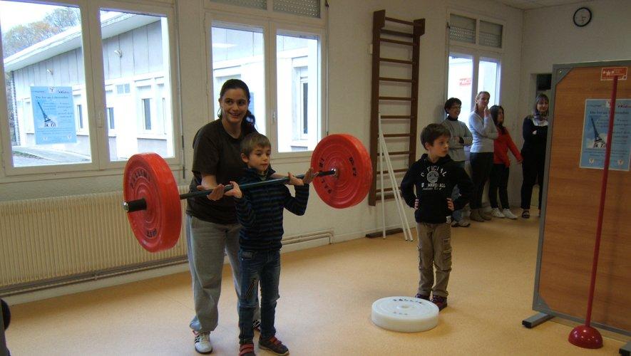 L'Haltéro-club accueille les jeunes et les adultes.