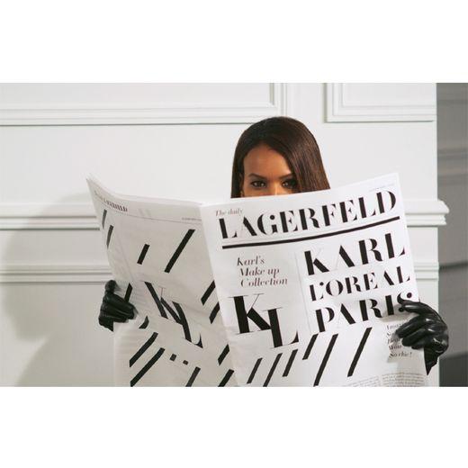 L'Oréal Paris et la marque Karl Lagerfeld ont concocté une ligne de maquillage pour la rentrée.