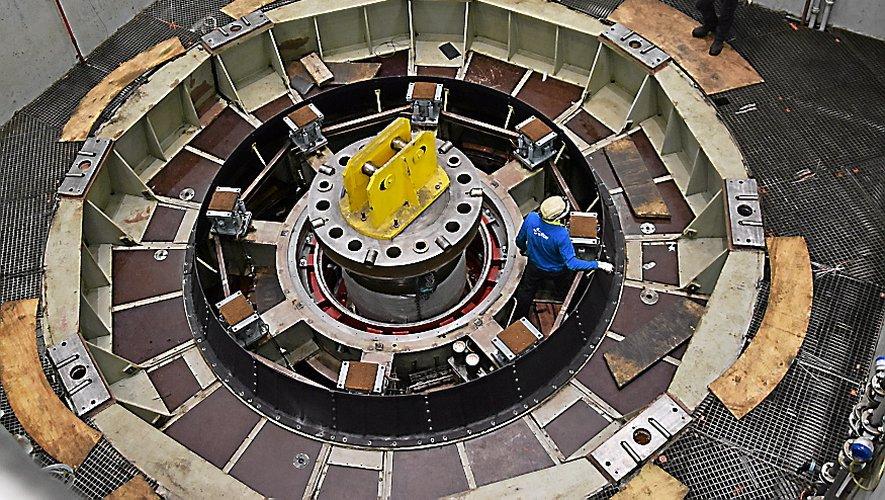 Avec ses 920 mégawatts, la centrale de Montézic est le deuxième site de production hydraulique le plus puissant de France.