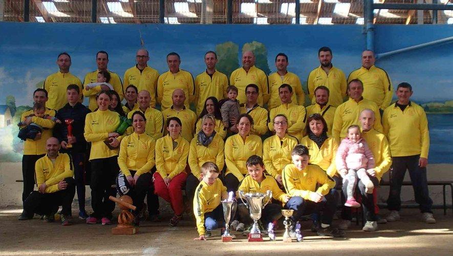 Le club de quilles de Golinhac fait rimer vitalité avec convivialité.