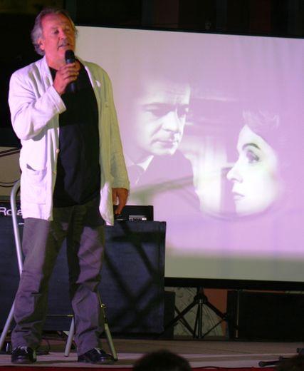 Louis Baudel lors d'un concert précédent.