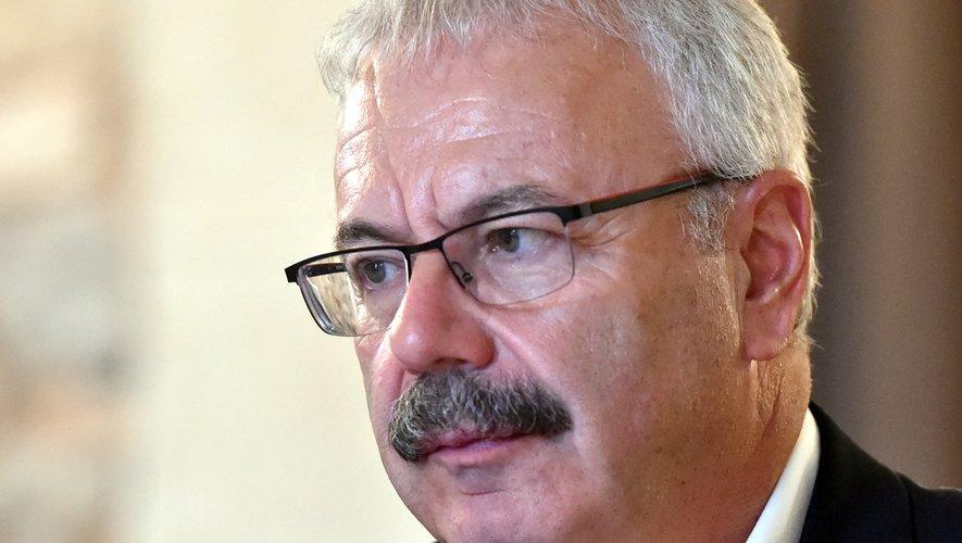Dominique Costes, président de la CCI Aveyron.